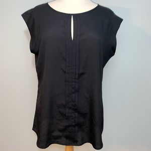 Limited Pleated front keyhole top